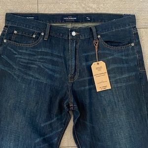 Lucky Brand Jeans 221 Straight Port Arthur 40x30